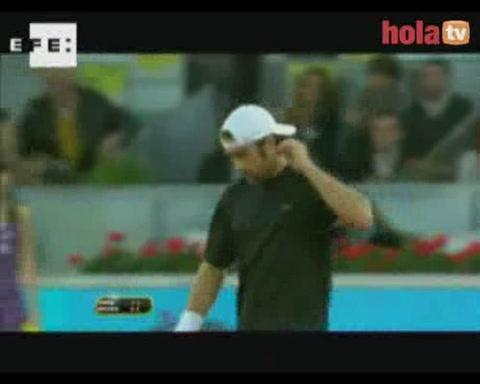 Carlos Moyá se despide del Masters 1000 de Madrid