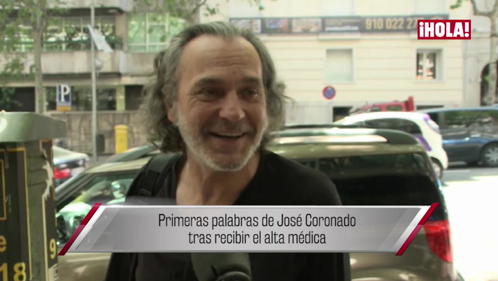 Jose Coronado recibe el alta médica tras sufrir un infarto