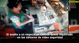 San Pedro Sula: Cámaras de seguridad registran asalto