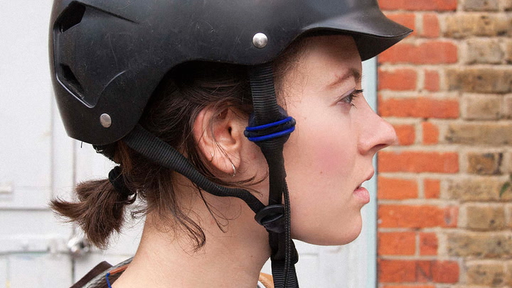 These Headphones Beam Music From Your Bike Helmet To Your Skull