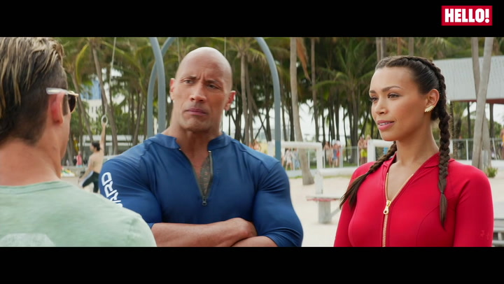 Dwayne Johnson Hazes Zac Efron In New \'Boyband\' Baywatch Clip