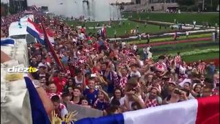 Las mejores escenas de la celebración de Croacia, subcampeón del mundo 2018