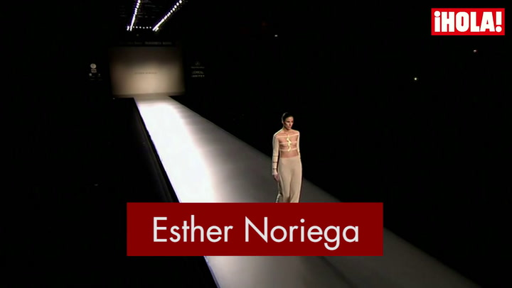Fashion Week Madrid otoño-Invierno 2015-2016: Esther Noriega