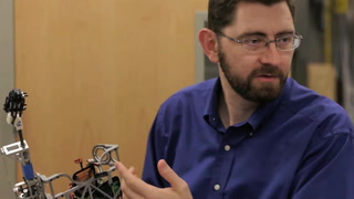 Robotics engineer wins NSF Career Award