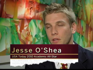 USA Today recognizes Jesse O'Shea among top 20 college students