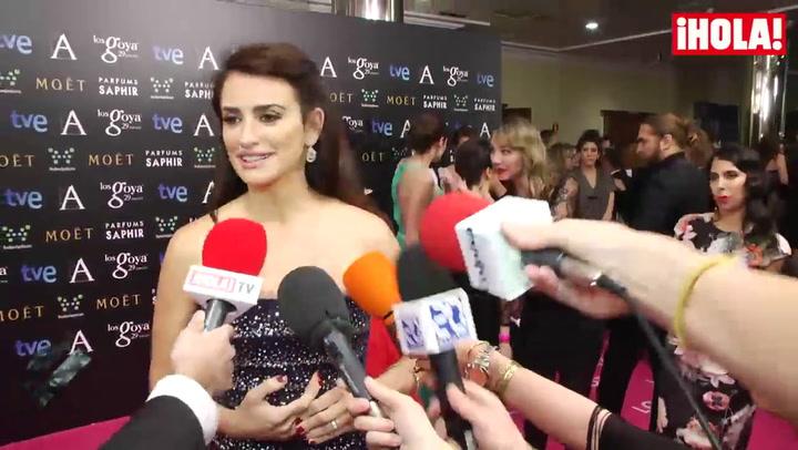 Penélope Cruz: \'Me quedo con los Oscar y con los Goya, con las dos cosas\'