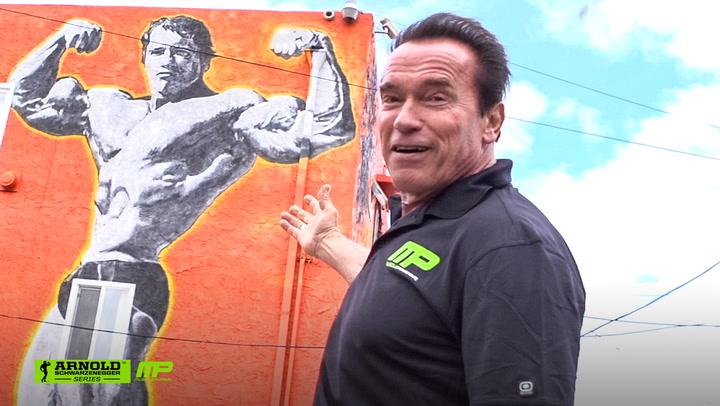 Arnold Schwarzenegger's Venice Beach Car Tour | Arnold Schwarzenegger's Blueprint Training Program