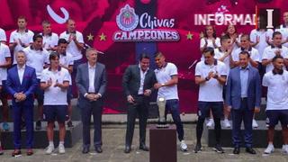 El gobernador recibe a Chivas