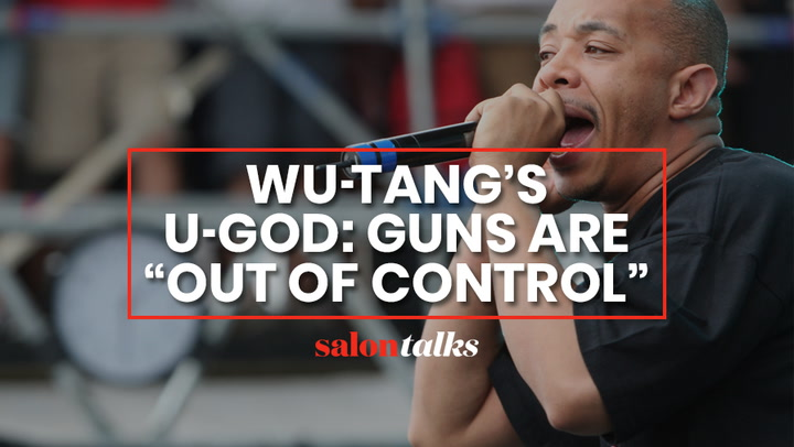 U-God: Machine guns have no purpose