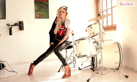Artist, roadie & Rock Royalty, Charlotte Watts takes us behind the scenes of her #HFM cover shoot