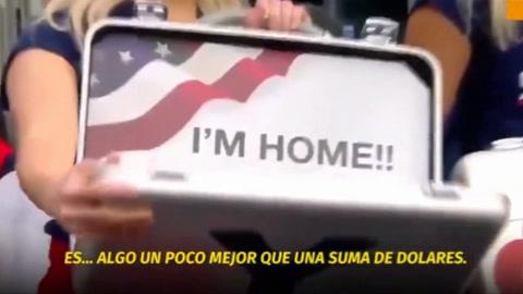 El video del reencuentro que conmueve a Estados Unidos