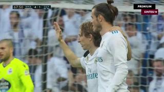 Real Madrid le receta paliza al Deportivo y muestra mejorías