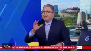 México: La reacción de un presentador de TV durante el sismo