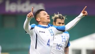 Honduras empata 2 - 2 ante El Salvador en partido amistoso