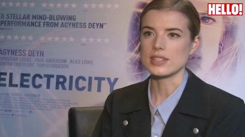 Former model Agyness Deyn talks about her new film Electricity