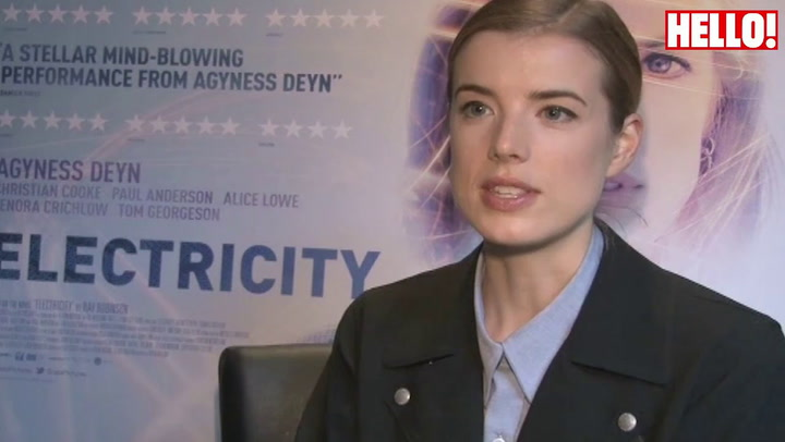 Former model Agyness Deyn talks about her new film Electricity