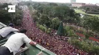 El Nazareno Negro, una tradición peligrosa en Filipinas