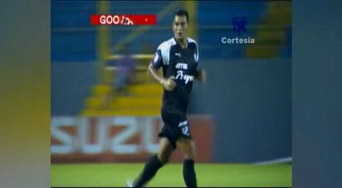 Gol de Mariano Acevedo al Real España (Liga Nacional 2017)