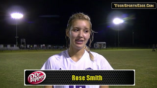 Rose Smith's Two Goal Night