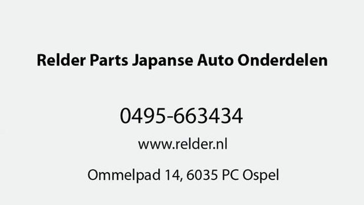 Relder Parts Japanse Auto Onderdelen - Video tour