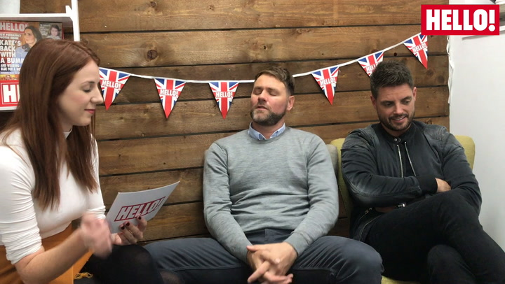 Boyzlife\'s Brian McFadden and Keith Duffy talk about their respective boyband members