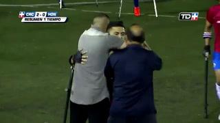 Costa Rica derrrota a Honduras amistoso de fútbol para amputados