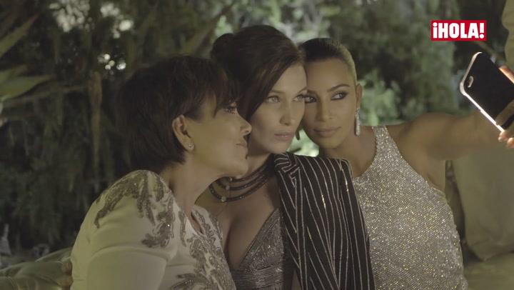 Bella Hadid y Kim Kardashian viven una noche inolvidable en Cannes