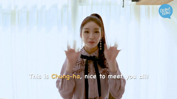 [Hello Dramabeans] Chungha: from idol trainee to music show judge