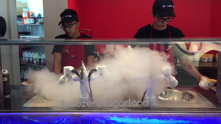 Super Cool Subzero Nitro-Spun Ice Cream
