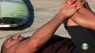 Allongé dos jambe fléchie surf (1)