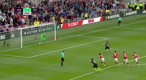 Middlesbrough 2-2 Manchester City (Premiere League)