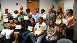Honoring FSU Johnson Scholarship recipients