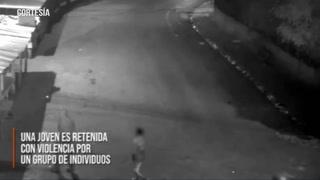 Cámaras de seguridad evitan que un grupo de hombres violen a una mujer en Tegucigalpa