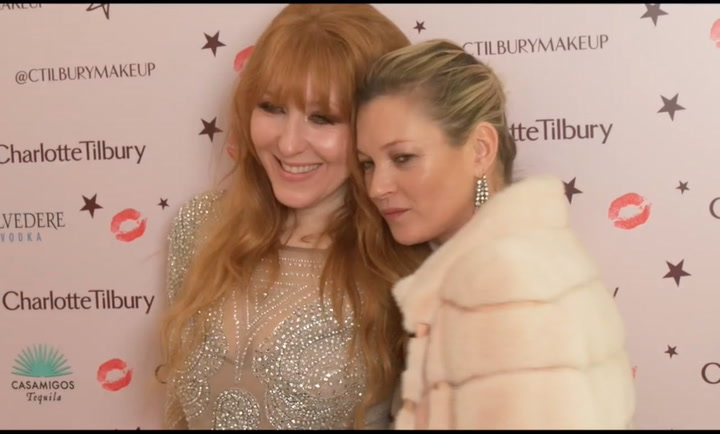 Celebrity friends and fashion stars gather to open Charlotte Tilbury\'s London flagship store