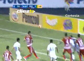 ¡GOOL DEL OLIMPIA! Danilo Tobías al minuto 90+1 anota el 2-1 ante R. Sociedad