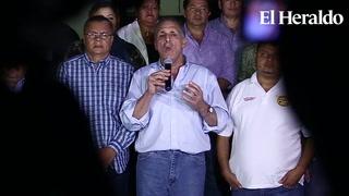 Alcalde de Tegucigalpa anuncia rebajas a la tasa vial municipal