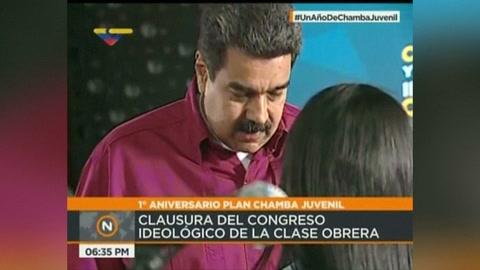 Maduro aumenta 103% el ingreso mínimo en la hiperinflación