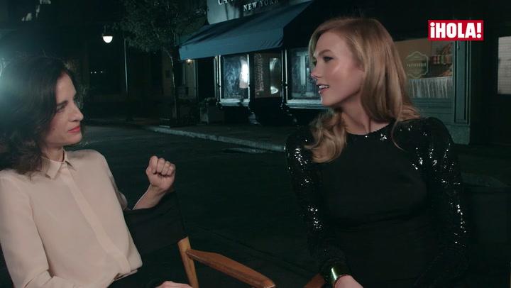 ¿Quieres saber de qué hablan Carolina Herrera y Karlie Kloss?