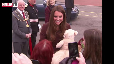 Did Kate reveal baby\'s sex during visit to Grimsby?