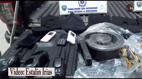 Capturas y decomiso de potentes armas en colonia Flor del Campo