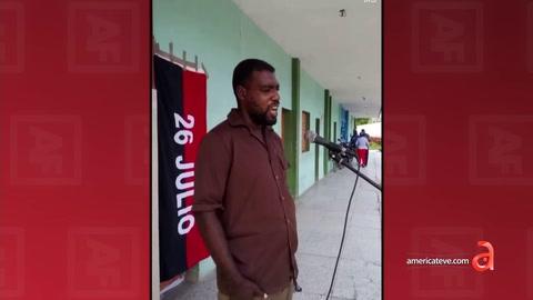 Usan a un hombre con problemas mentales en un acto por el 26 de Julio en Cuba