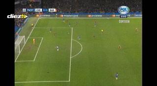 ¡Apareció el Mesías! Lionel Messi anota el empate en el Chelsea-Barcelona