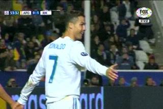 Cristiano Ronaldo anota doblete ante el Apoel en Champions League