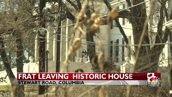 MU frat kicked out; fate of historic house unclear
