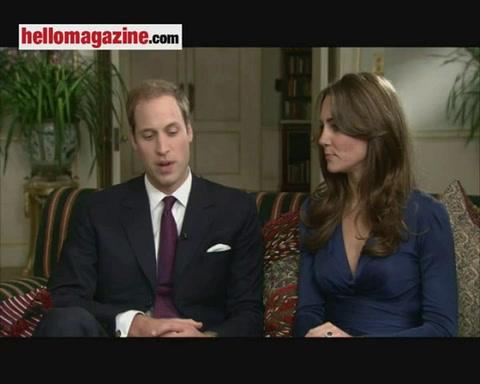 William describes his \'romantic\' proposal