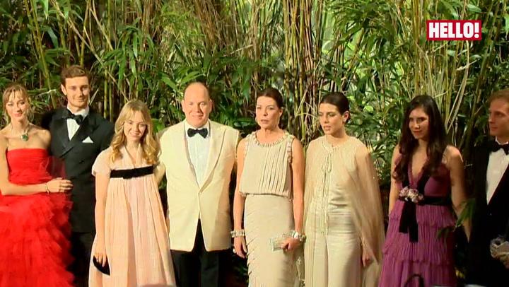 Monaco royals dazzle at annual Rose Ball