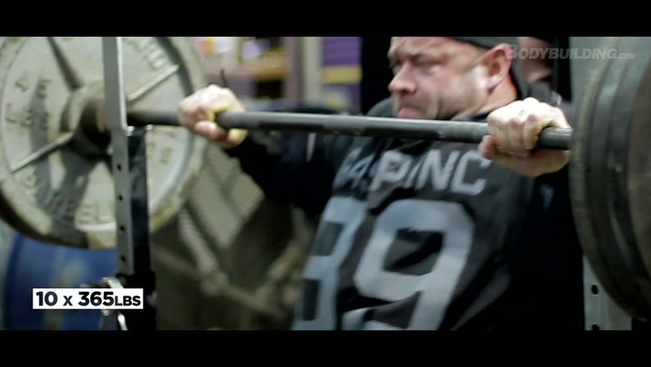 Branch Warren Shoulder Workout | 2012 Road To The Arnold