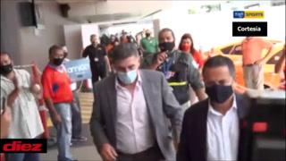 Así fue la llegada de Luis Fernando Suárez a Costa Rica: