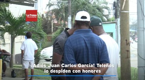 ¡Adiós Juan Carlos García! Teleños lo despiden con honores