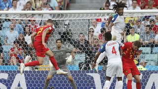 Panamá cae 3-0 ante Bélgica en debut mundialista